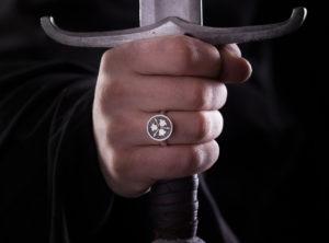 Žiedas su herbu