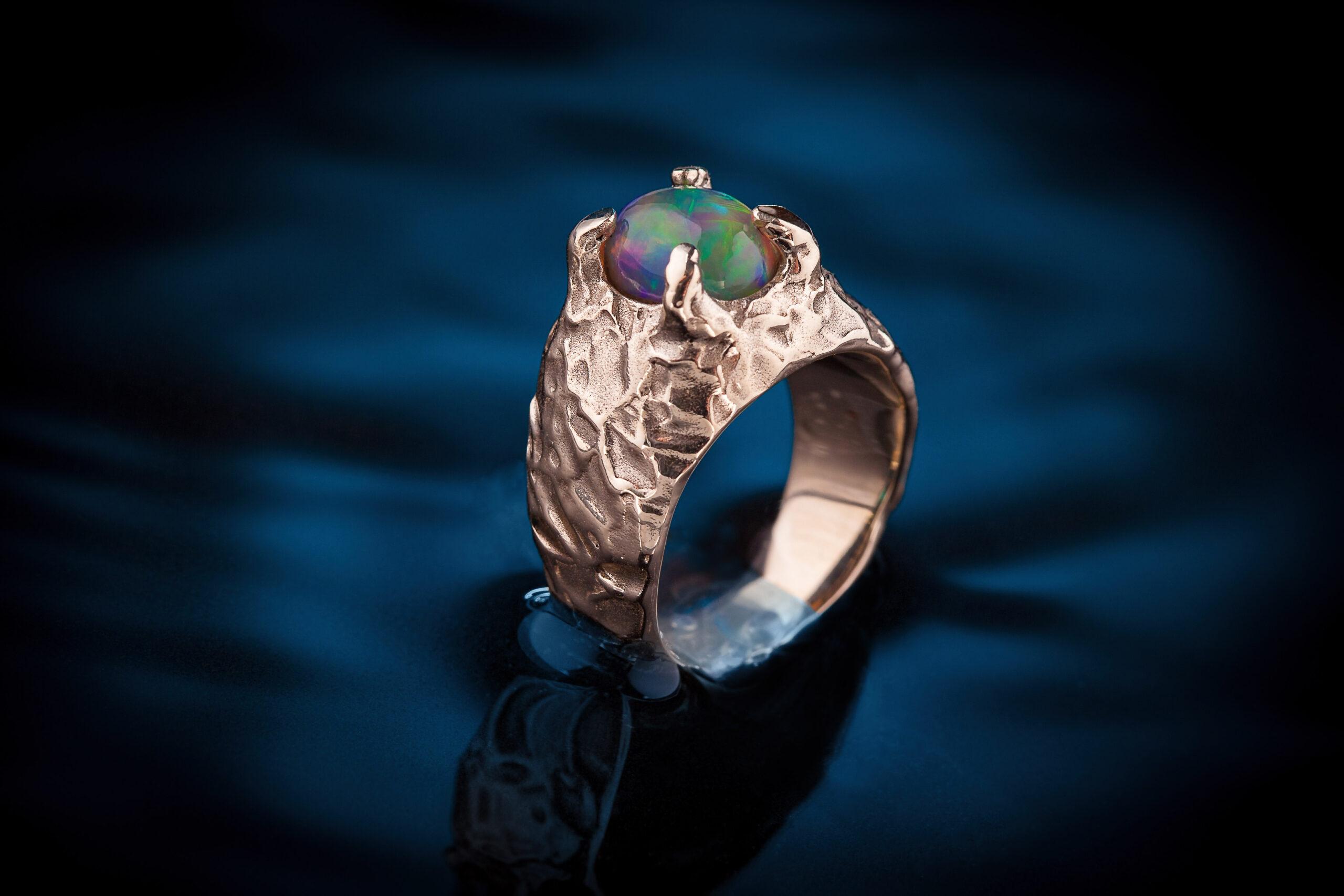 Autorinis sužadėtuvių žiedas