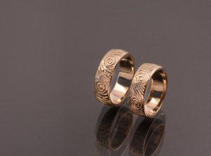 Jono ir Elenos vestuviniai žiedai