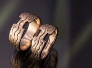 Ingos ir Roberto vestuviniai žiedai