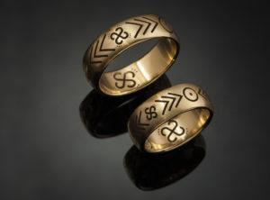 Kristinos ir Povilo vestuviniai žiedai