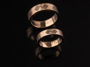 Giedrės ir Algio vestuviniai žiedai
