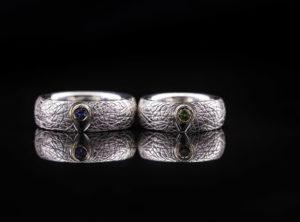 Vestuviniai žiedai iš sidabro