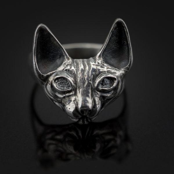 žiedas katinas