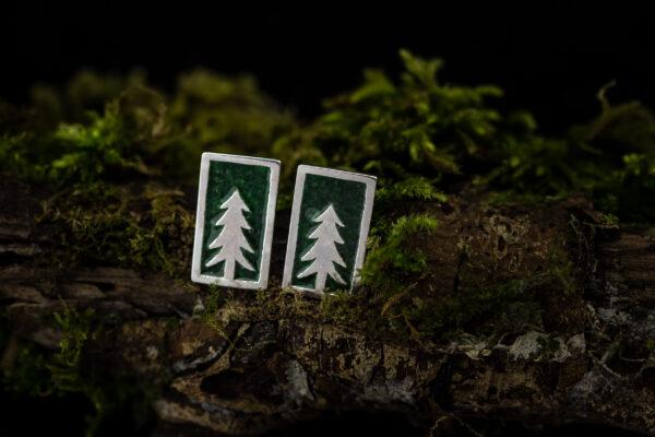 Auskarai miške