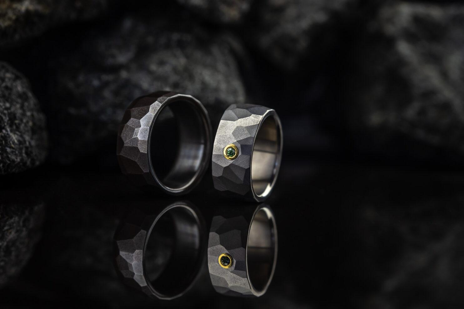 Titaniniai vestuviniai žiedai
